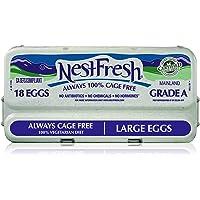 NestFresh Grade A Eggs, Large, 18 ct
