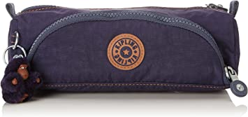 Kipling Cute Estuches, 22 cm, 1 liters, Azul (Blue Tan Block): Amazon.es: Equipaje