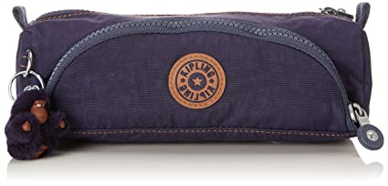 Kipling Cute Estuches, 22 cm, 1 liters, Azul (Blue Tan Block)