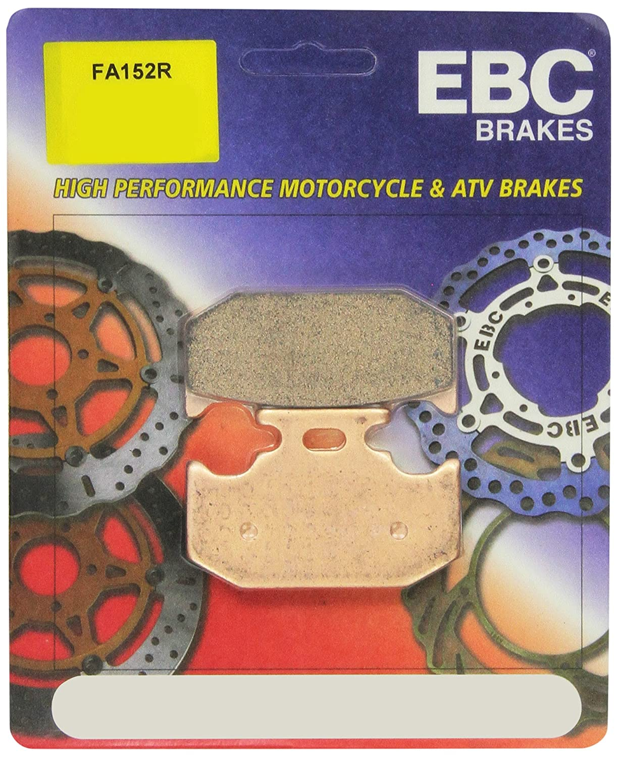 EBC Brakes FA152R Disc Brake Pad Set