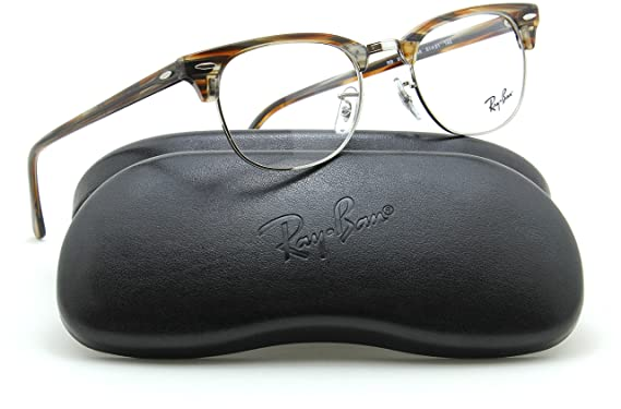 990c62c2690 Image Unavailable. Image not available for. Color  Ray-Ban RX5154  Clubmaster Optics Prescription Glasses 5749 - 49