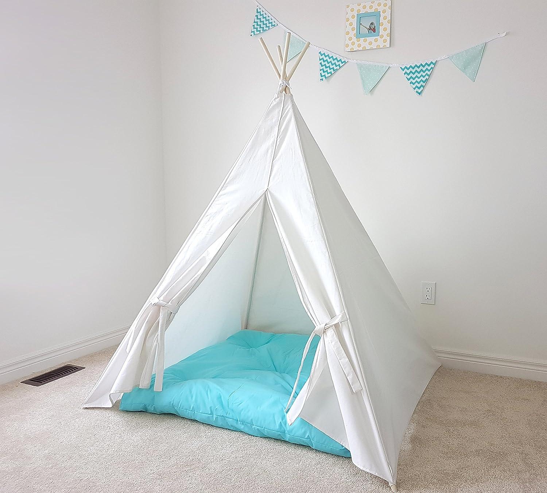 Ivory Speckled Budget Teepee | Kid's | Tent | Tipi | Playhouse | Wigwam | Photo Prop | Princess | Unisex