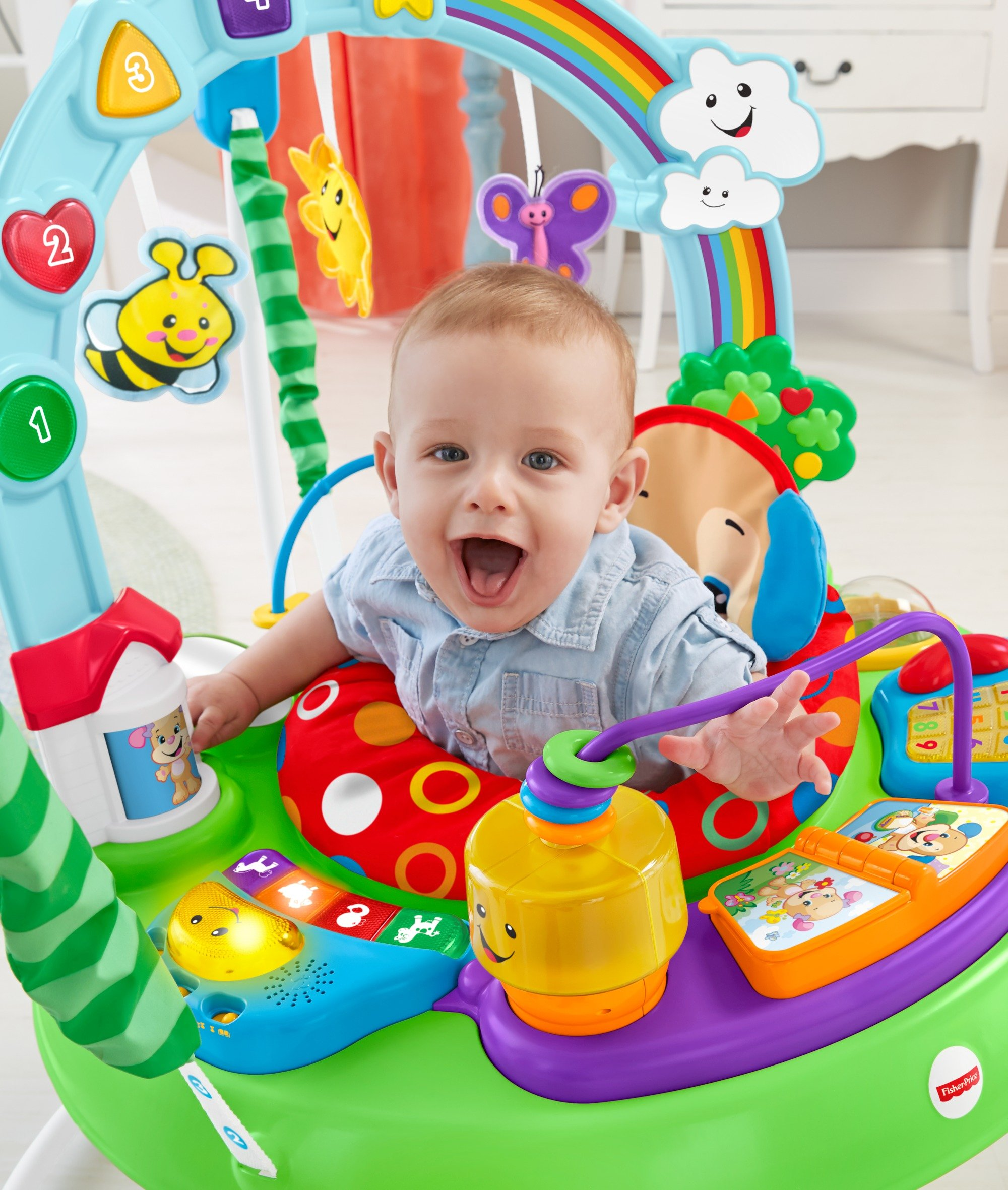 Fisher-Price Laugh And Learn Puppy'S Activity Jumperoo by Fisher-Price (Image #4)