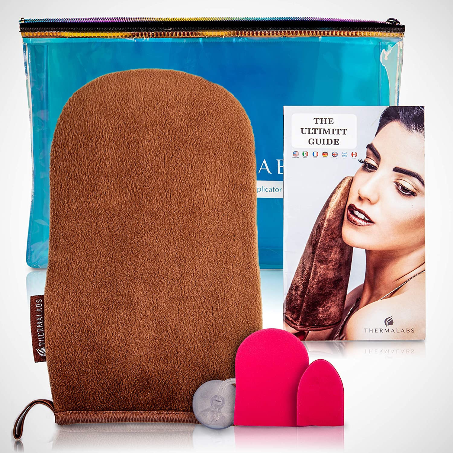 The Ultimitt - The Ultimate Tanning Applicator Mitt By Thermalabs Perfect for Self Tanning Sunless Tan Gloves or Self Tanner Mitts TRML-MIT