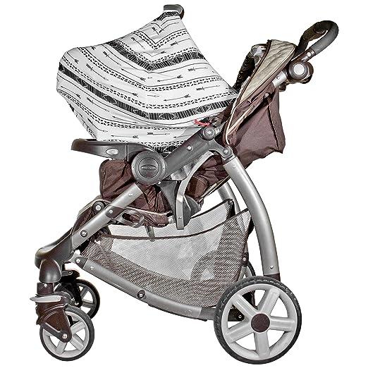 Amazon.com: Bebé asiento de coche cubierta Canopy Flechas ...