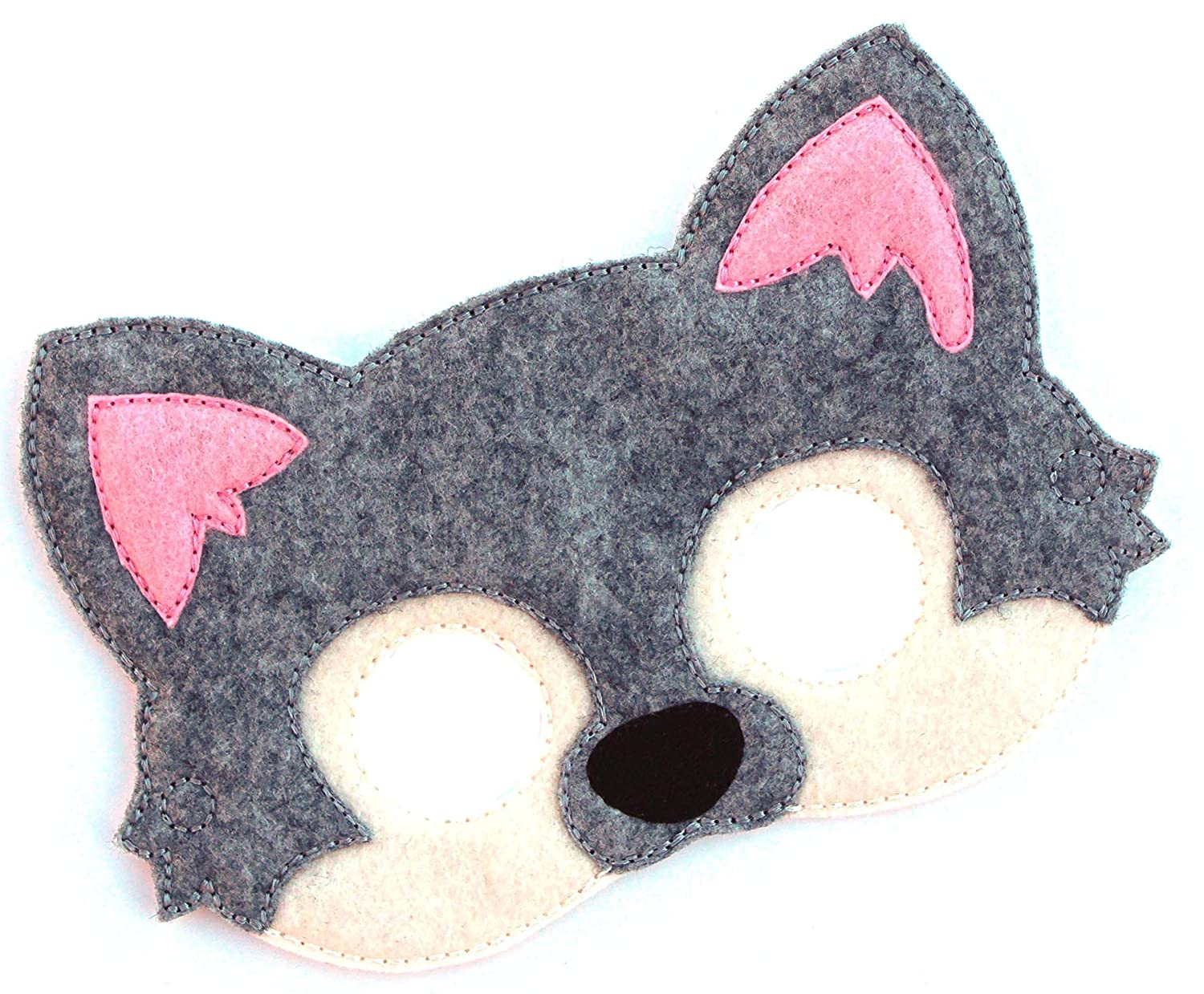 Halloween Costume Wolf Costume| Animal Face Mask Dress Up Kids Wolf Mask Felt Mask Kids Face Mask Costume Party Favors Pretend Play
