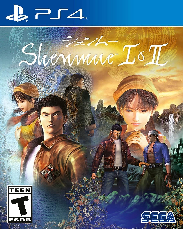 Shenmue I Ii Playstation 4 Sega Of America Inc Ps4 Yakuza Kiwami 2 Steelcase Region 3 English Video Games