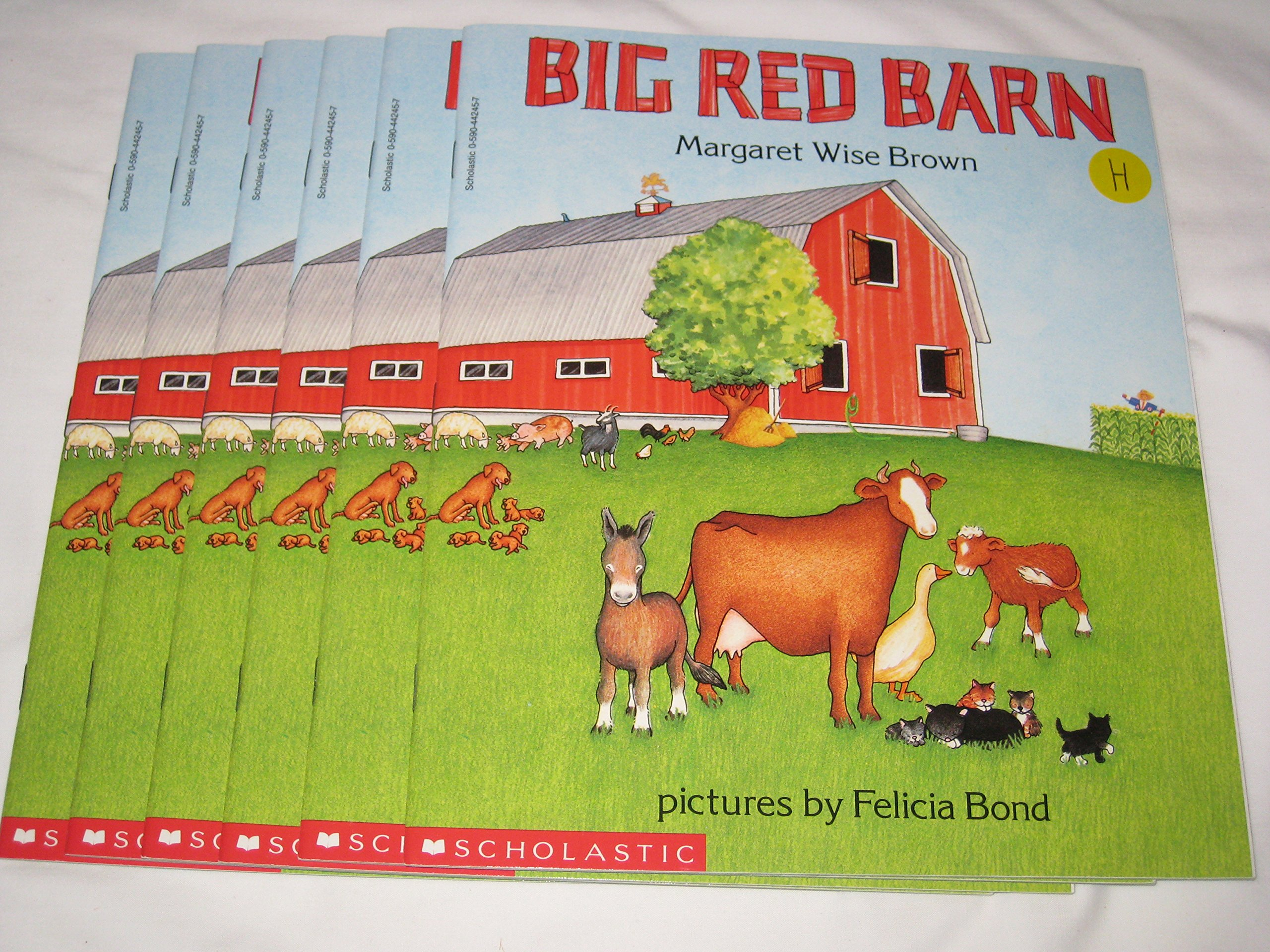 Leveled Guided Reading Set Big Red Barn Margaret Wise Brown
