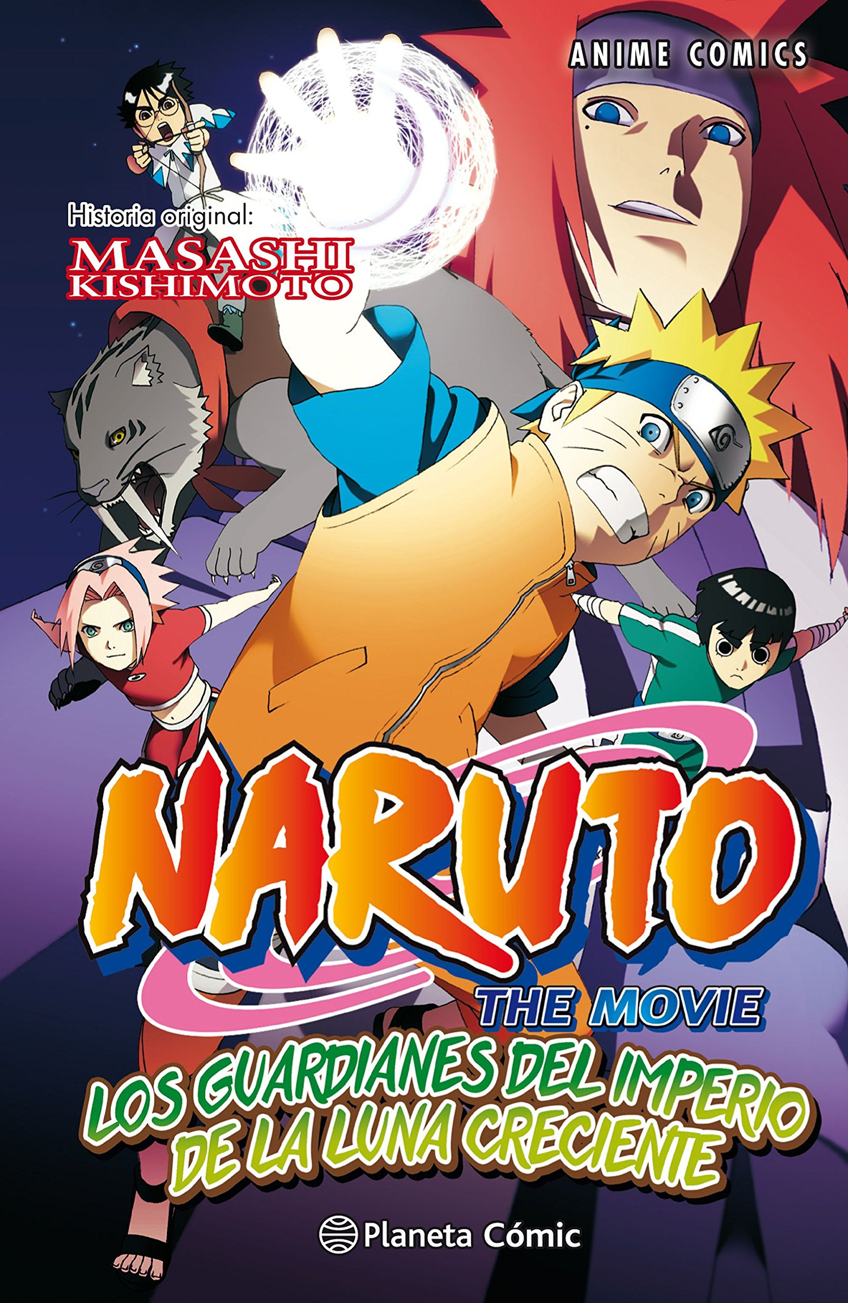 Naruto Anime Comic nº 04 Los Guardianes del Imperio de la ...