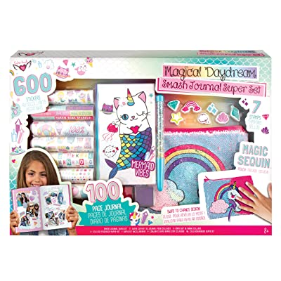 Fashion Angels Magical Daydream Smash Journal Super Set, Assorted: Toys & Games