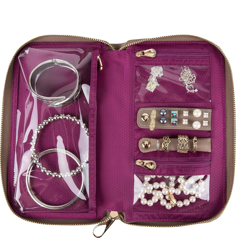 Onyx Travelon Tailored Jewelry Case