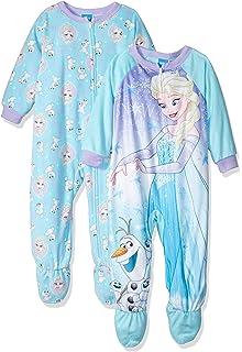 Disney Girls Frozen Elsa 2-Pack Blanket Sleeper