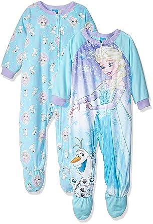 2999bf878 Disney Girls Frozen Elsa 2-Pack Fleece Blanket Sleeper Blanket ...