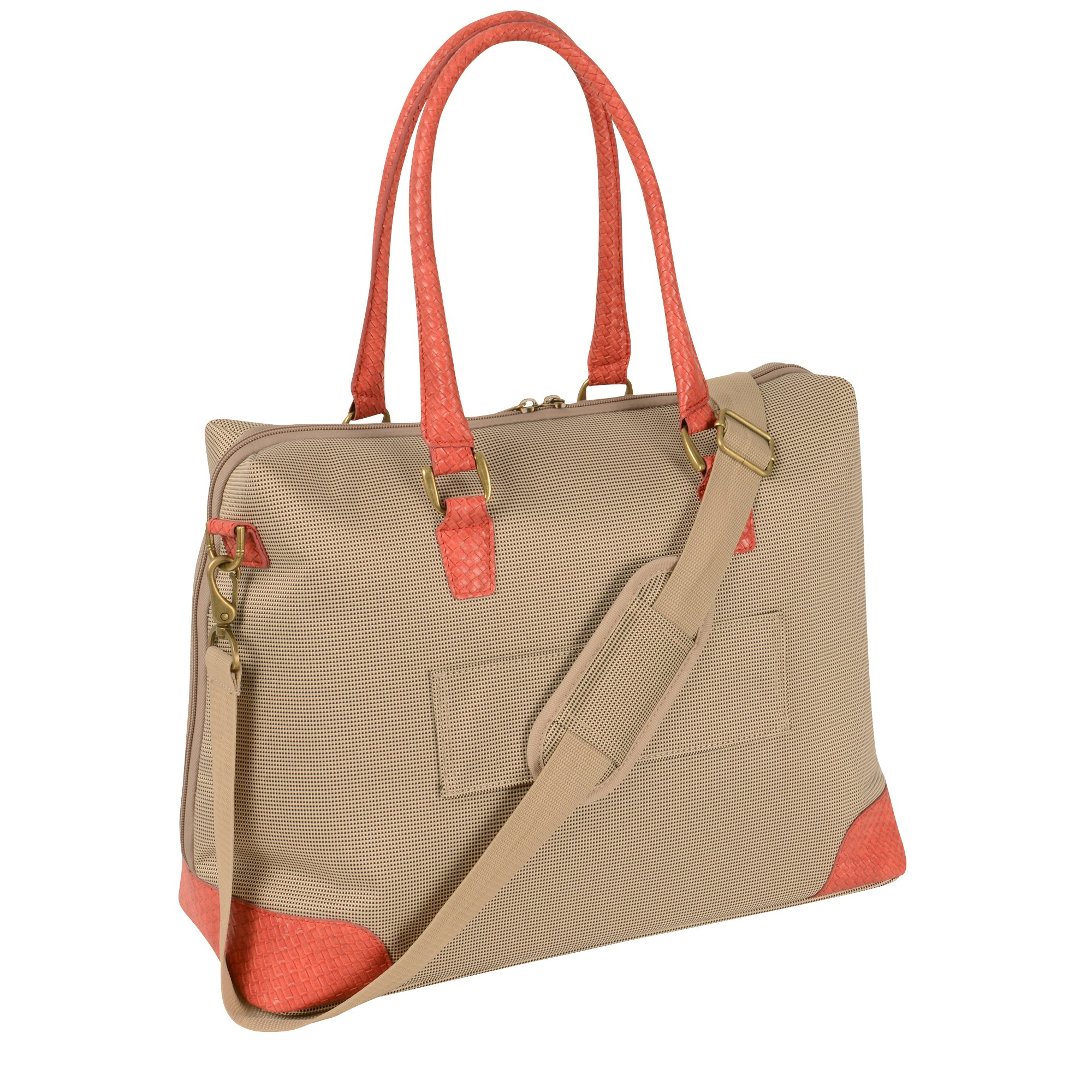 Tommy Bahama Belle Of The Beach 18.5 Boarding Bag, Champagne/Coral, One Size