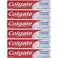 Colgate 6 Ounce Baking Soda and Peroxide Whitening Toothpaste