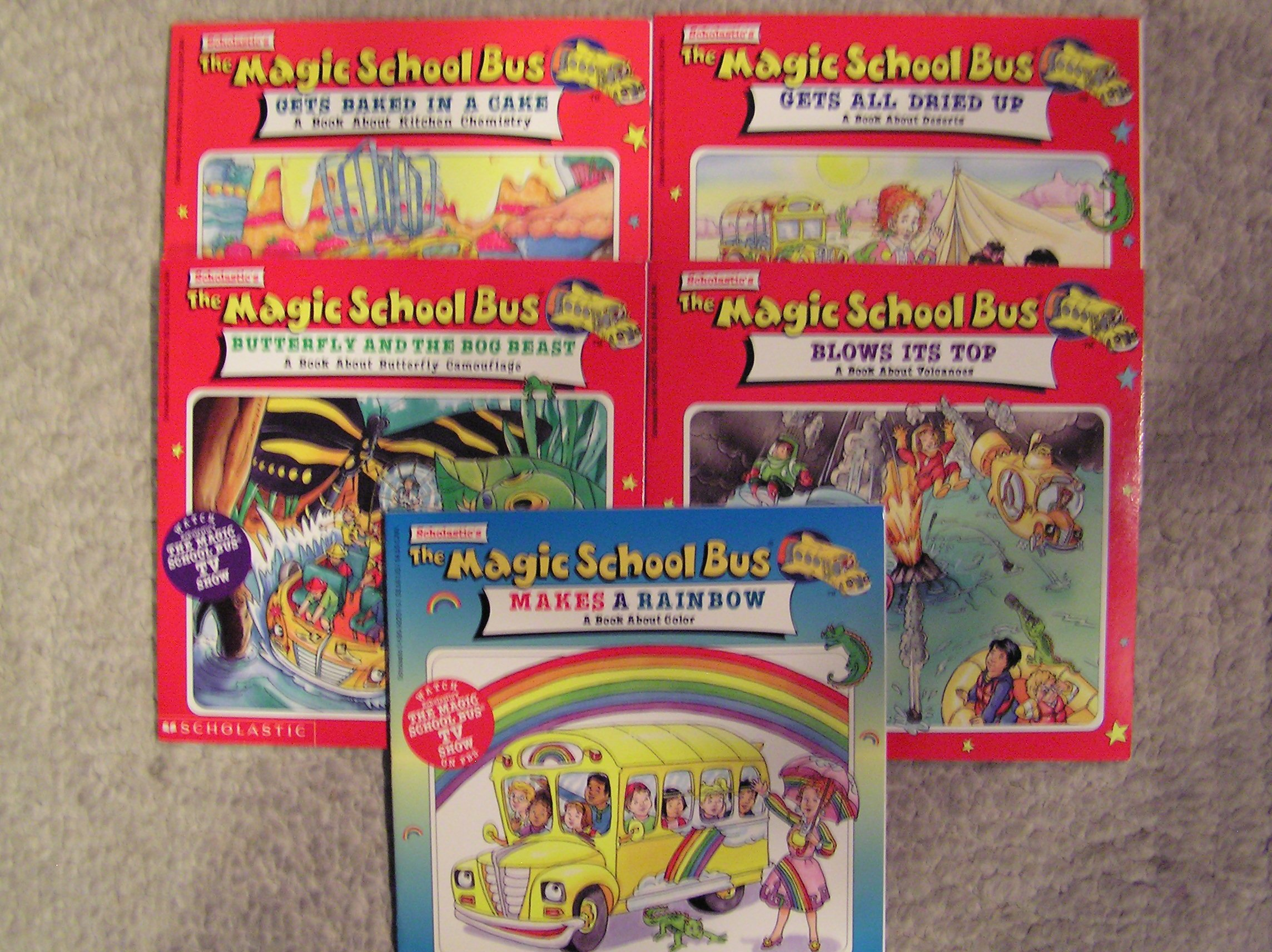 Magic School Bus Makes A Rainbow Butterfly And The Bog Beast Gets