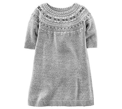 7998c133d1 Amazon.com  Carter s Girls  2T-4T Sweater Dress 4T  Clothing