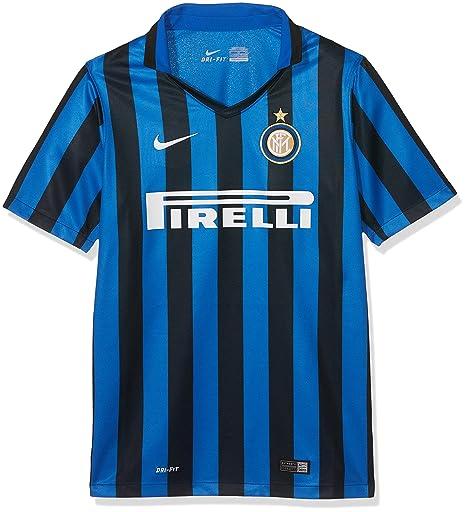 cheaper c815d cbcbd Amazon.com : NIKE 2015-2016 Inter Milan Third Football Shirt ...