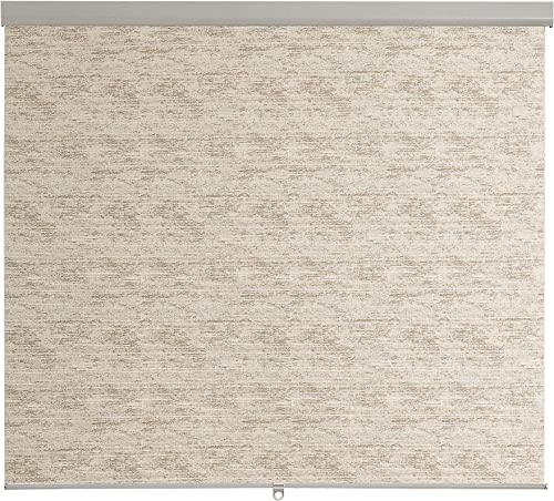 Brielle Home Distressed Jacquard Cordless Roller Shade
