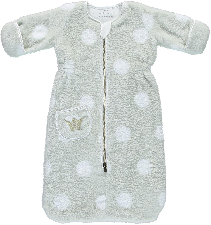 Saco de dormir para bebé Puckababy - Bag Newborn < 6 meses | 70 cm - otoño/invierno - Teddy Gold (Oro): Amazon.es: Bebé