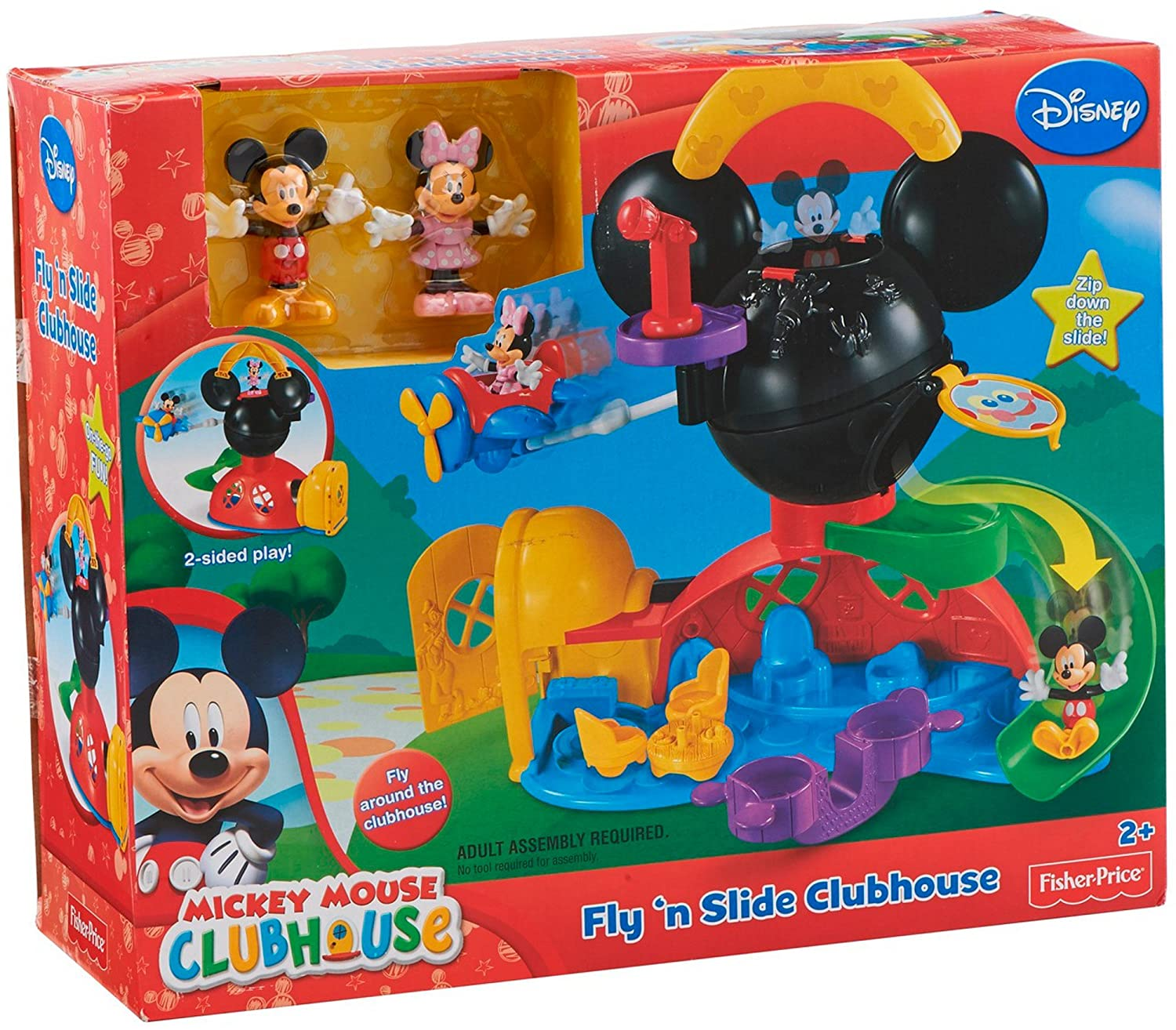 Fisher-Price La Casa De Mickey Mouse - Playset con figuras (Mattel Y2311): Amazon.es: Juguetes y juegos