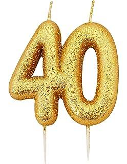 FANCYDRESSCOZ Geburtstagsfee Sparklers Set For 40th Birthday Or