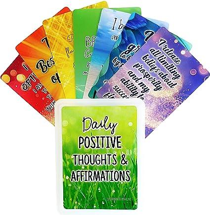 Prayer Positive Affirmations Minute Meditations Encouragement Affirmation Cards Set Love Notes Mantra Mindfulness
