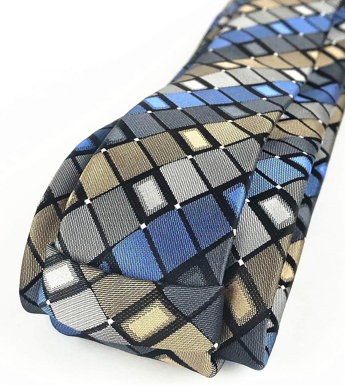 Estrechos Corbata Y Pañuelo de Bolsillo Set Delgada Negocios Boda Festivo