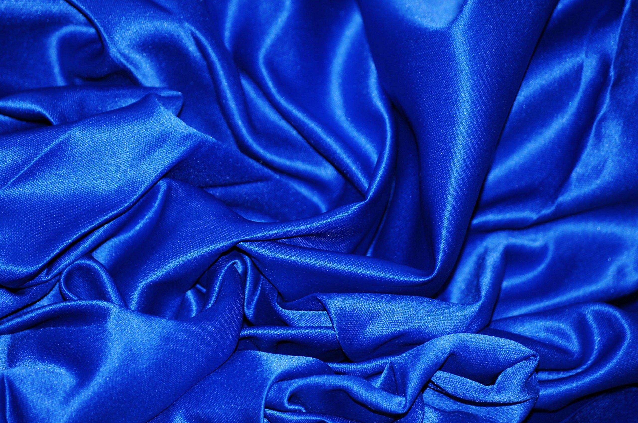 Ex-Lg Blue Floral Satin Bonnet/Satin Sleep Cap/Braid Cap/Dreadlock Cap