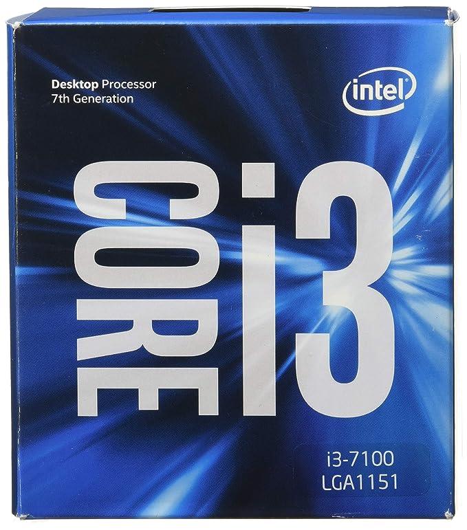 Amazon Com Intel Core I3 7100 7th Gen Core Desktop Processor 3m