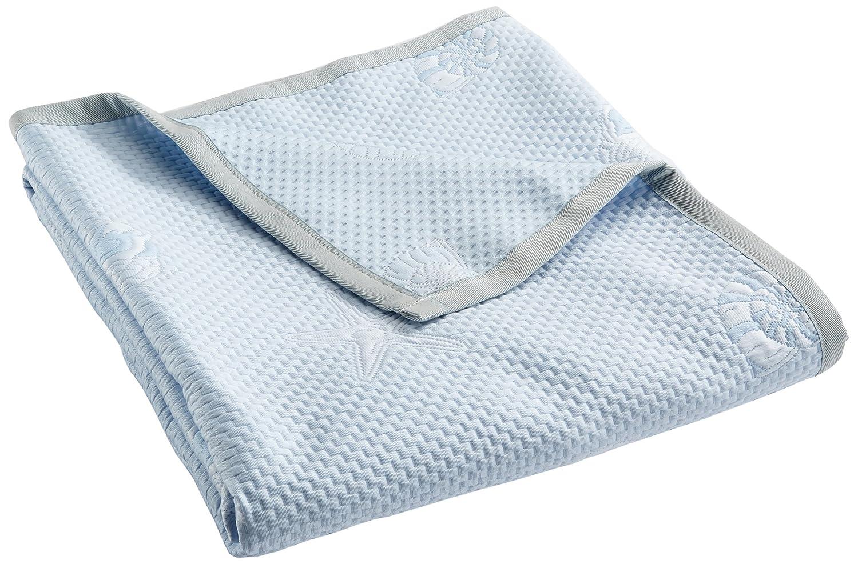 Casa tessuto trapunta per letto da 90 Singolo 42/x 34/x 9/cm Poliestere Blu