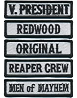Patch Squad Men's Outlaw Officer Rank Vest Patches
