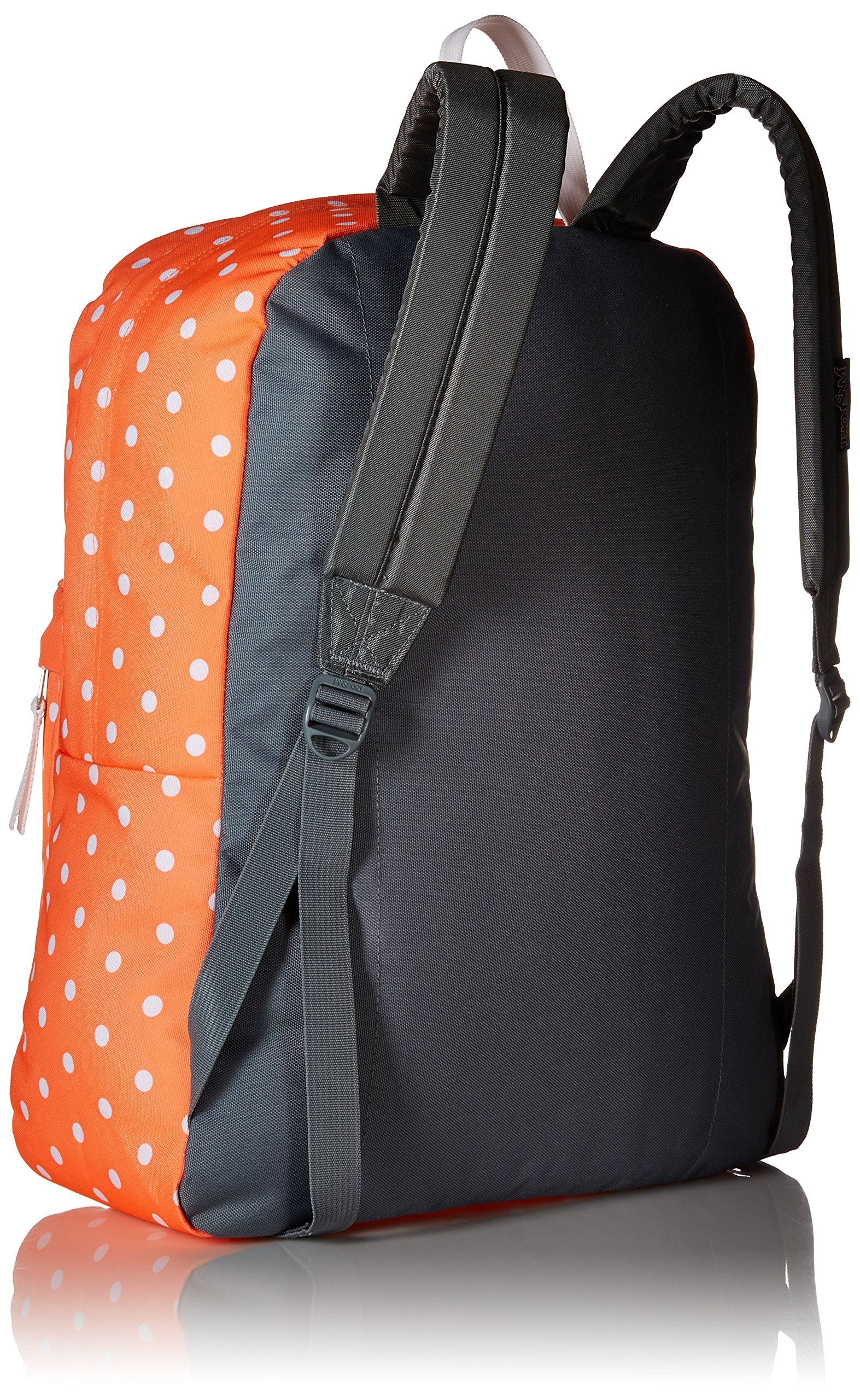 JanSport Superbreak, Tahitian Orange/White Dots, One Size by JanSport (Image #2)