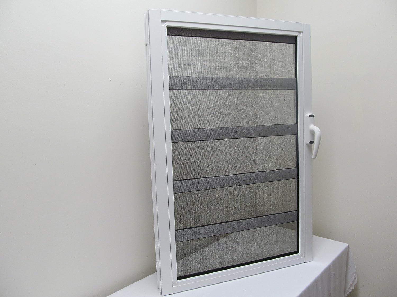 Jalousien Discount 24.24 X 36 Aluminum Jalousie Style Window 5 Panes Louvered