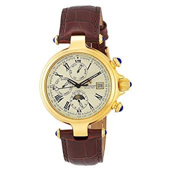 Steinhausen Mens TW391G Classic Marquise Automatic Gold Watch