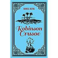 Robinson Crusoe Daniel Defoe Classic Novel, (Deserted Island Shipwreck Tale, Required Literature), Ribbon Page Marker…