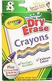 Crayola 98-5200 8CT Dry Erase Crayons (Pack of 2)