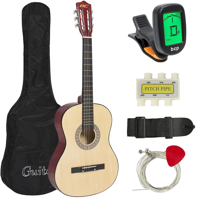 Best Choice ProductsR Natural アコースティックギター w/ Accessories Combo Kit Beginners アコースティックギター アコギ ギター (並行輸入) B005KXBKTW