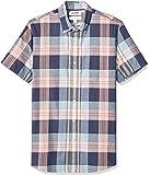 Goodthreads Amazon Brand Men's Slim-Fit Short-Sleeve Lightweight Madras Plaid Shirt