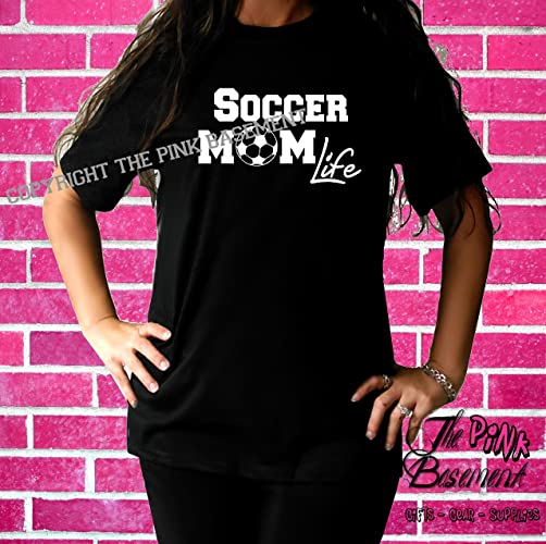 abf78fafd04 Image Unavailable. Image not available for. Color  HANDMADE ADULT Womens T  shirt Soccer Mom ...