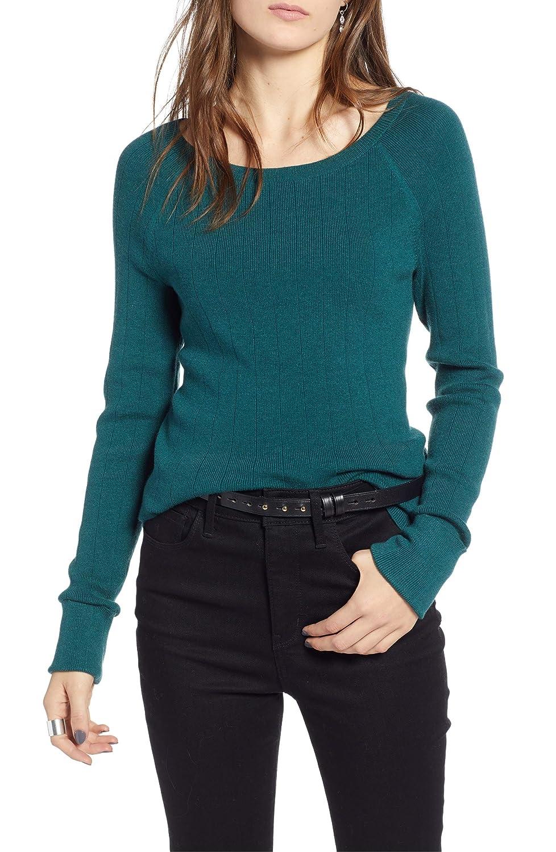 [トレジャーアンドボンズ] レディース ニット&セーター Treasure & Bond Variegated Rib Sweater [並行輸入品] B07HK4H7GR X-Small