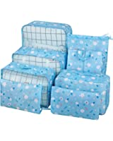 8 Set Packing Travel Organizer,Waterproof Mesh Travel Luggage Accessories Packing Cubes with Shoes Bag