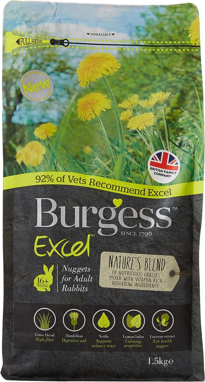 Burgess Excel Natures Blend Rabbit Food, 1.5 kg
