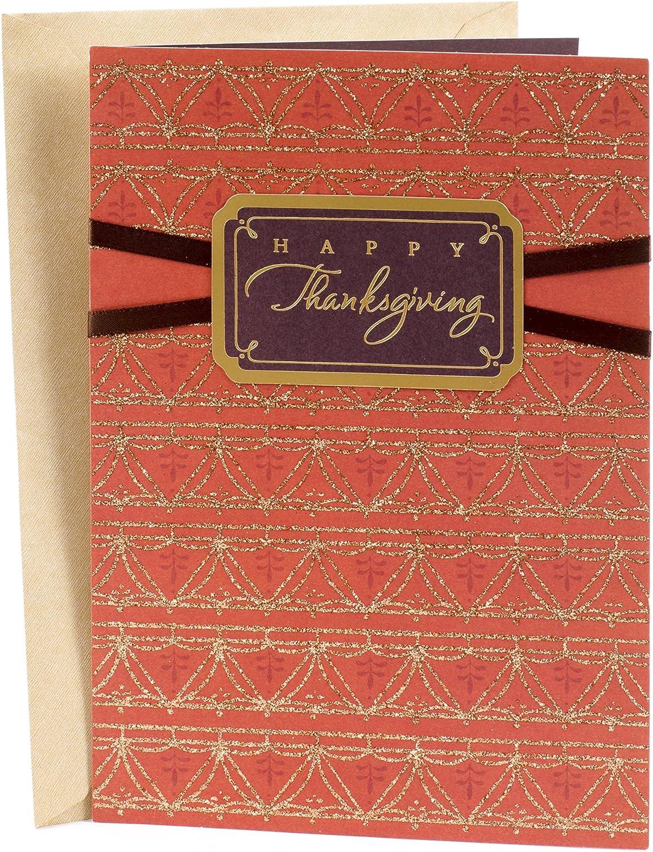 Hallmark Signature Thanksgiving Card