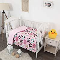 """Sapphire Home Kids Baby Toddler Super Soft and Cozy Blanket, 40"""" x 50"""", Pink Plush Sherpa Backing Blanket for Girls Kids Toddlers, Rabbit Puppy Design Blanket Kids Blanket, Baby Animal"""