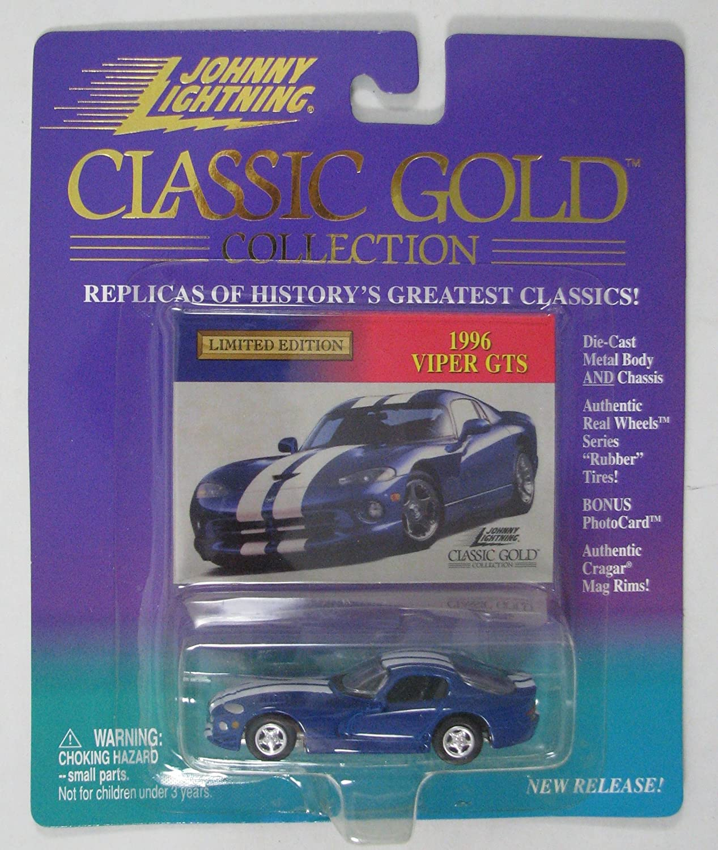 Bonus Photocard Johnny Lightning Classic Gold Collection 1996 Viper GTS