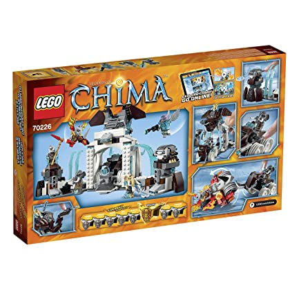 LEGO Legends of Chima 70226 Mammoth's Frozen Stronghold Building Kit