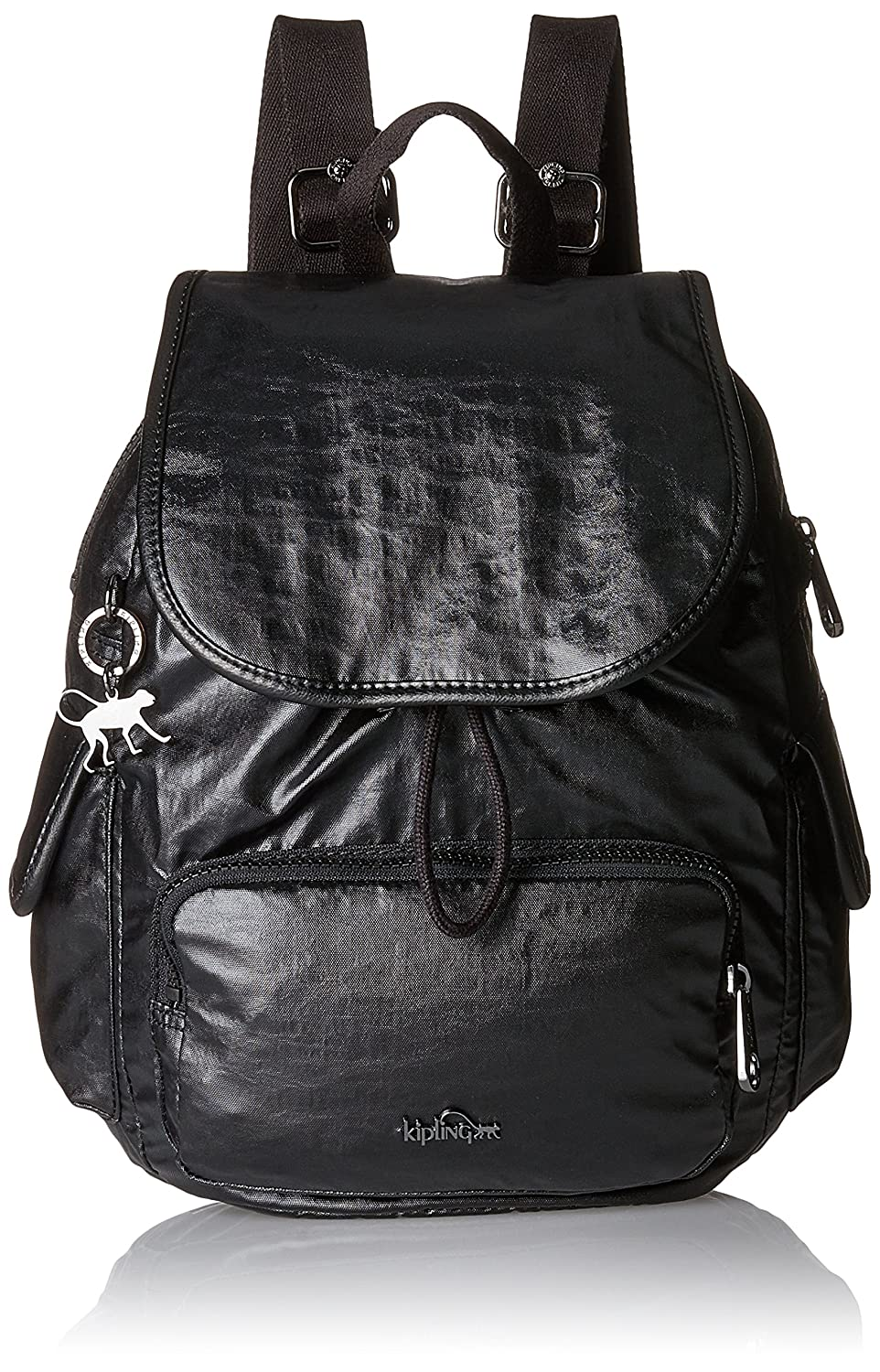 Noir (Lacquer Night)  Kipling City Pack S, Sacs à dos