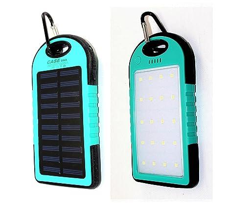 Amazon.com: Cargador solar/20 luces LED, Portable Solar ...