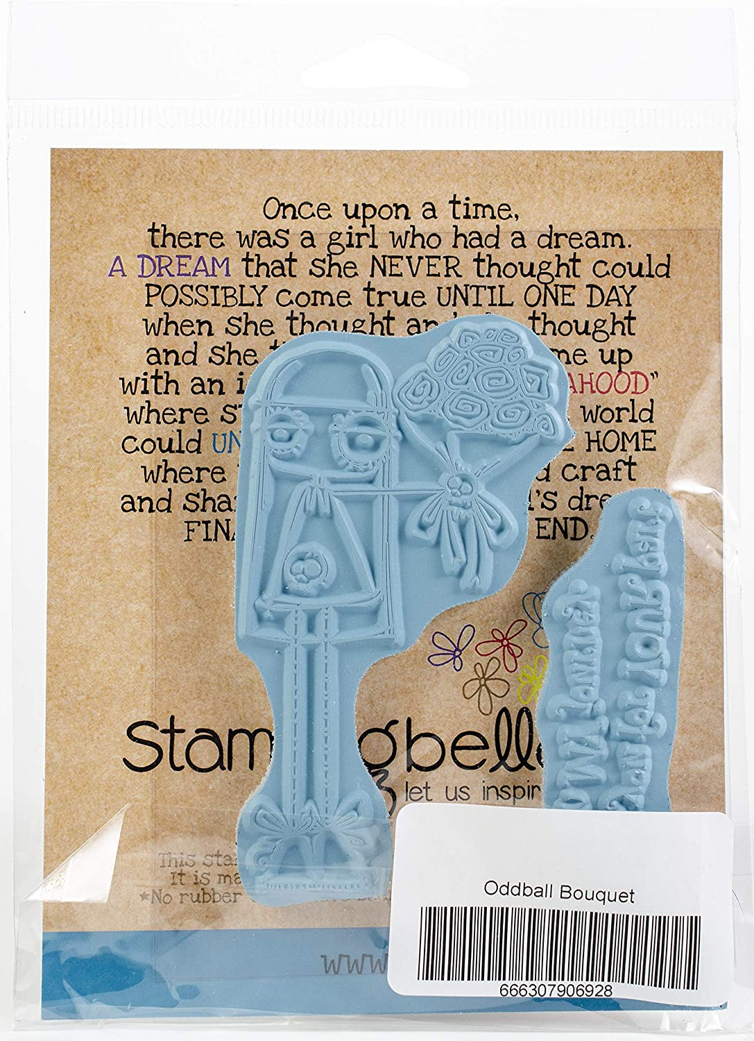 Oddball Nurse Stamping Bella EB692 Cling Stamps
